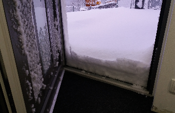Zastřešení vchodu do domu