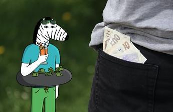 Dost krmení banky