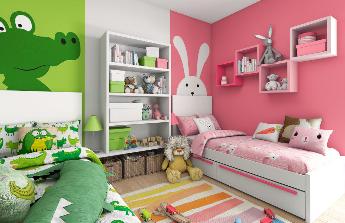 Rekonstrukci dětského  pokoje