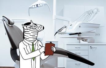 Na operaci nosních mandlí a opravu zubů