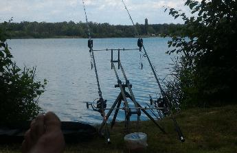 Rybařská výprava, záloha