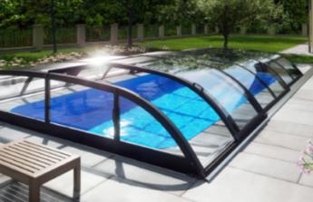 Stavba bazénu se zastřešením