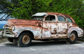 Výměna starého auta za novější