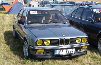 renovace veterána BMW