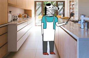 Nové vybavení kuchyně