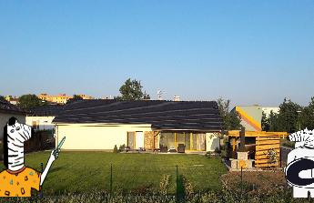 Dostavení domku, okolí a zahrady