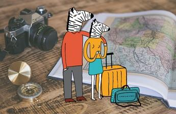 cestování pro neteř