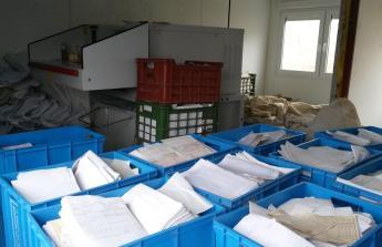 Repasi průmyslového skartovacího stroje