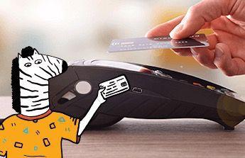 splacení kreditní karty a koupi pračky