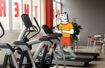 Fitness projekt první měsíce