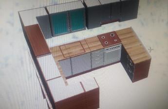 Rekonstrukce koupelny a nová kuchyňská linka
