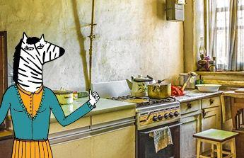 Na kuchyn a prazdniny pro syna.Rada